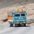 Truck on the high altitude Manali - Leh road , India — Stock Photo #60632289