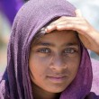 Local young girl in Manali, India — Stock Photo #60637225