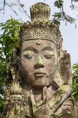 Traditional stone sculpture in the temple in Ubud, Bali, Indonesia — Stock Photo
