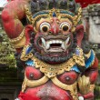 Closeup of traditional Balinese God statue in Central Bali temple — Stock Photo #69890115