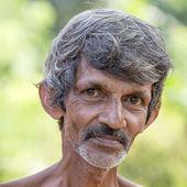 Sri Lankan beggar  — Stock Photo