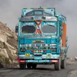 Truck on the high altitude Manali - Leh road , India — Stock Photo #70096107
