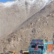 Truck on the high altitude Manali - Leh road , India  — Stock Photo #70096117