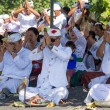 Indonesian people celebrate Balinese New Year and the arrival of spring. — Stock Photo #70343611