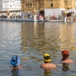Sikhs men visiting the Golden Temple in Amritsar, Punjab, India. — Stock Photo #70704625