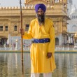 Sikh man visiting the Golden Temple in Amritsar, Punjab, India.  — Stock Photo #70983687