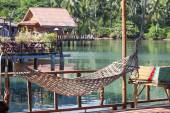 Wonderful place for relaxation in island Koh Chang ,Thailand — Stock Photo