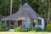 Tropical beach bungalow , Thailand . — Stock Photo