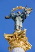 Independence monument in Kiev, Ukraine — Stock Photo