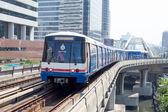 BTS Skytrain in Bangkok, Thailand. — Stock Photo