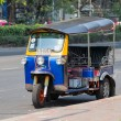 Auto rickshaw or tuk-tuk on the street of Bangkok. Thailand — Stock Photo #71171047