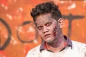 Portrait of a zombie — Stock Photo
