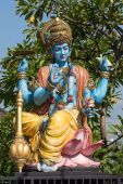 Shiva statue, hindu idol in Ubud, Bali, Indonesia — Stock Photo