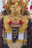 Closeup of traditional Balinese Barong mask in Indonesia — Stock Photo