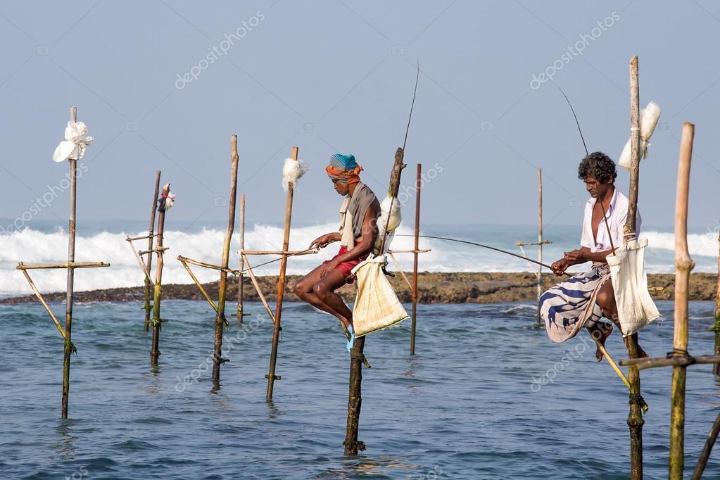 рыбалка во  коломбо