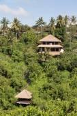 Tropical beach house.  Bali, Indonesia — Stock Photo