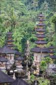 Hindu temple, Ubud, Bali, Indonesia — Stock Photo