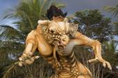 Balinese ogoh ogoh monster at Balinese New Year , Indonesia. — Stock Photo