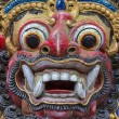 Closeup of traditional Balinese God statue. Bali temple. Indonesia — Stock Photo #73668231