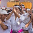 Indonesian people celebrate Balinese New Year — Stock Photo #73835221