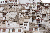 Chemdey Buddhist monastery in Ladakh, India — Stock Photo
