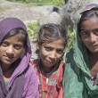 Local young girls in Manali, India — Stock Photo #74268515