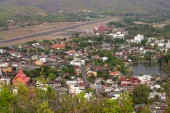 City view of Mae Hong Son, Thailand — Stock Photo