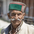Old local man in Manali, India — Stock Photo #74434961