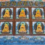 Shanti Stupa in Leh, Ladakh, India — Stock Photo #79567564