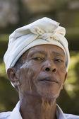 Portrait man in Bali island. Indonesia — Stock Photo
