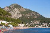 Coastal mountain landscape in Sutomore, Montenegro — Stock Photo