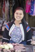 Myanmar girls in Thailand — Stock Photo