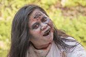 Portrait of a zombie. Bangkok, Thailand — Stock Photo