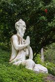 Stone sculpture in Ubud, Bali, Indonesia — Stock Photo