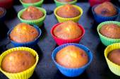Homemade cupcakes — Stock Photo