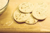 Matzah, pita bread — Stock Photo