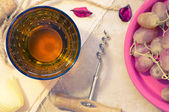 白葡萄酒 — 图库照片
