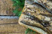 Chambres d'hôtes aux anchois et aneth — Photo