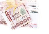 Thai banknote isolated on white background — ストック写真