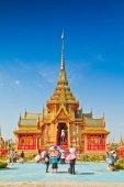 Tajski królewski pogrzeb — Zdjęcie stockowe