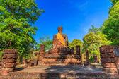 Centro storico della antica città e vecchio tempio vecchio buddha — Foto Stock