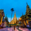 Shwedagon pagoda in Yangon, Myanmar — Stock Photo #54895747