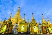 ミャンマー、ヤンゴンのシュエダゴン パゴダ — ストック写真