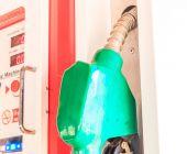 Fuel dispenser — Stock Photo