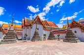 Temple Wat Pho in Bangkok — Stock Photo