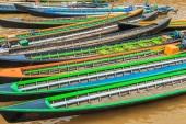 Boten in Inlemeer — Stockfoto