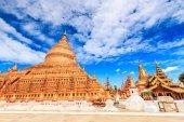 Shwe zi gon pagoda Paya Temple — Stock Photo