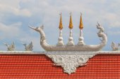 Thailand temple roof — Stock Photo