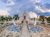 Wat Rong Khun of Chiangrai — Stock Photo