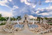 Wat Rong Khun of Chiangrai — 图库照片